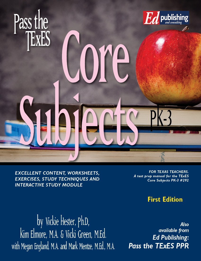 Core Sub PK-3 1st Ed Ebook for #292 [DOWNLOADABLE EBOOK ]