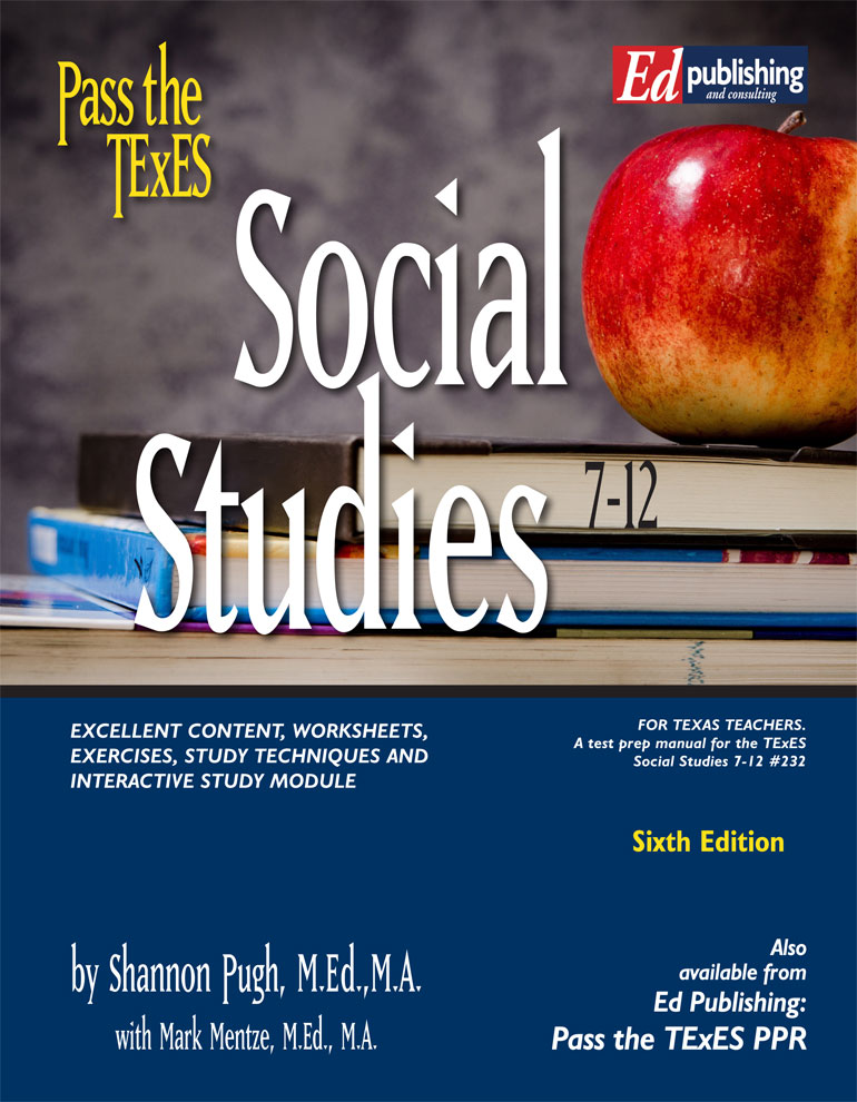 Soc Studies 7-12 Ebook Online Module, 6th Ed for #232 [ONLINE MODULE ]