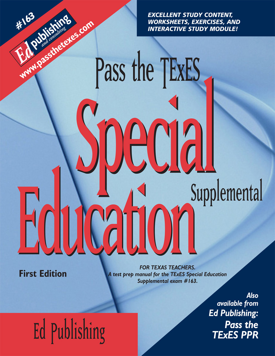Special Education Supp, 1st Ed for #163 [DOWNLOADABLE EBOOK ]
